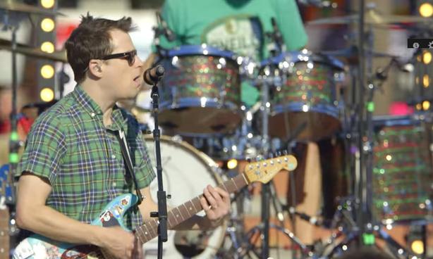 Un concert-surprise de Weezer en visionnement sur YouTube