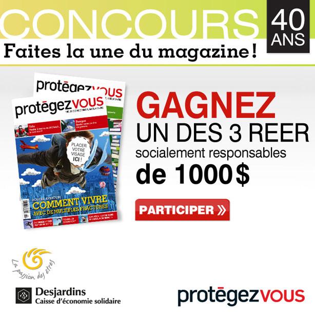 Concours «Faites la une de Protégez-Vous!»