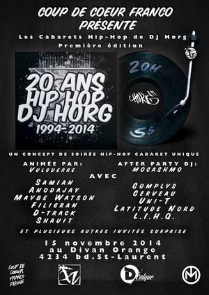 DJ Horg / 20 ans en 20 tounes.