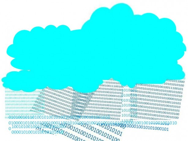Nuages et pluies numériques