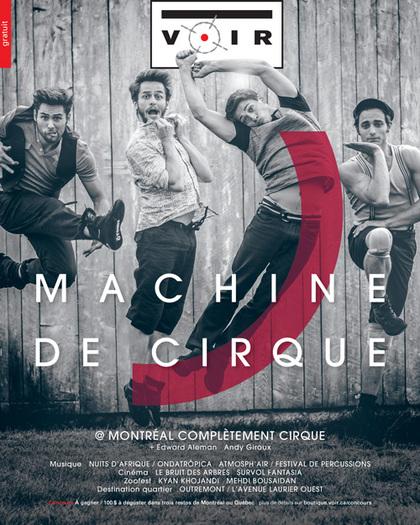Machine de cirque / Montréal Complètement Cirque