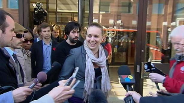 Martine Desjardins: leader étudiante