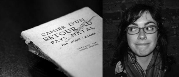 Ma quête vers 500: Julie Ledoux et Aimé Césaire