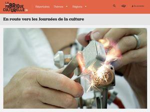 La Fabrique culturelle, nouvelle complice des 19es Journées de la culture !
