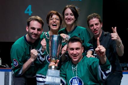 Les Verts sacrés champions!