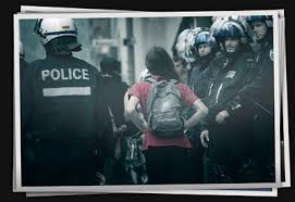 Courage de police