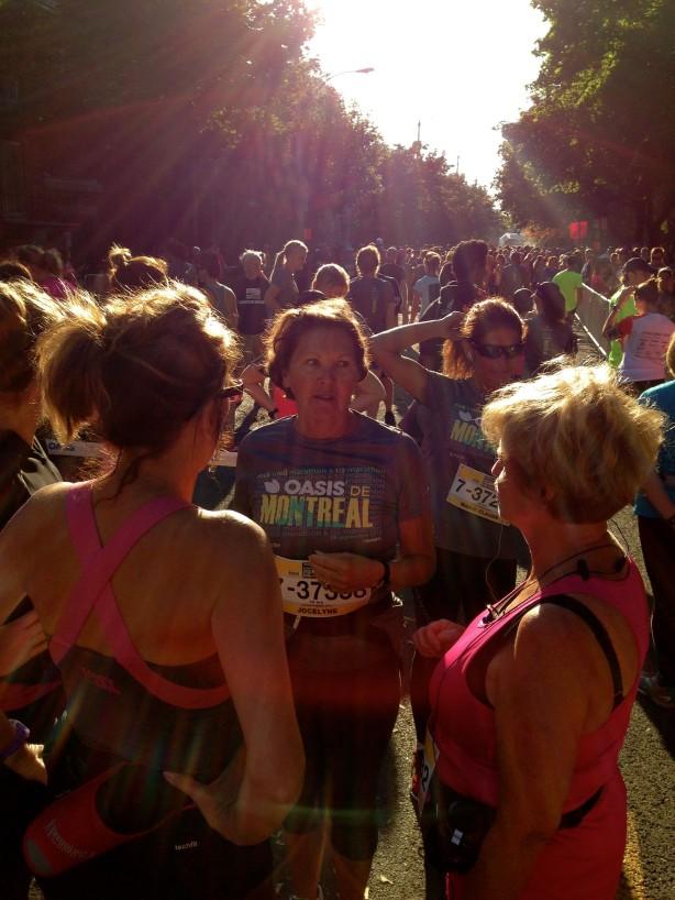 Le Marathon de Montréal : Courir et lire en même temps !