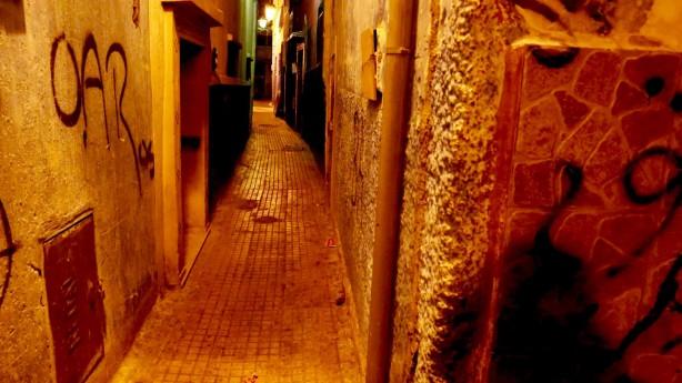 Les rues du Mellah, une demi-heure, après la rupture du jeûne!