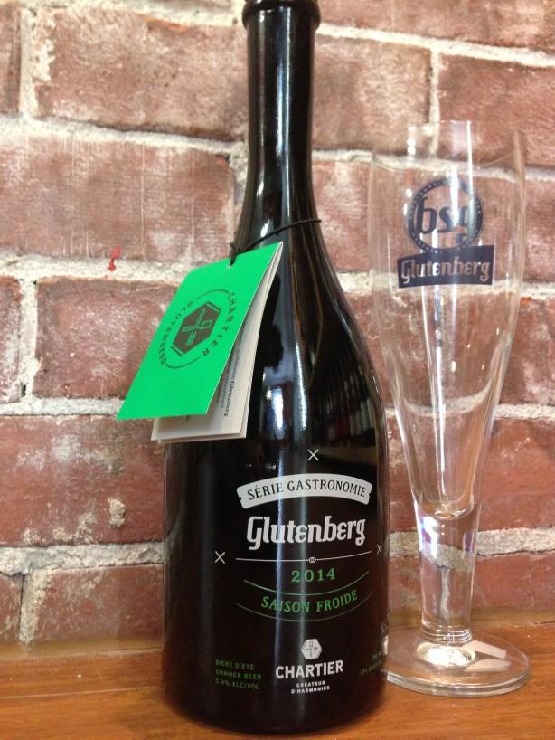 Une bière par semaine – Glutenberg Saison Froide / Brasseurs Sans Gluten