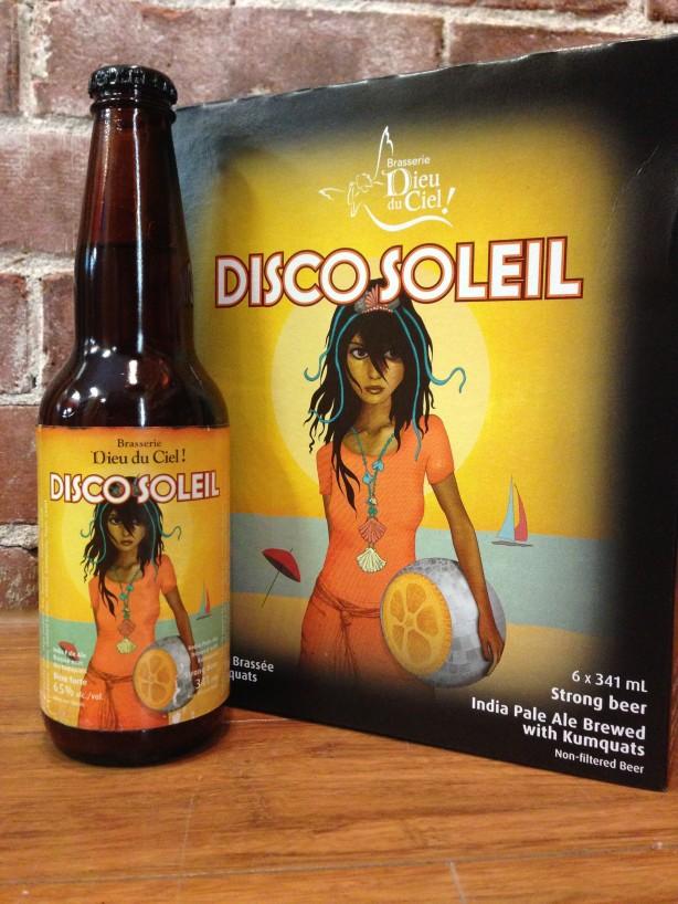 Une bière par semaine – Disco Soleil / Dieu du Ciel!
