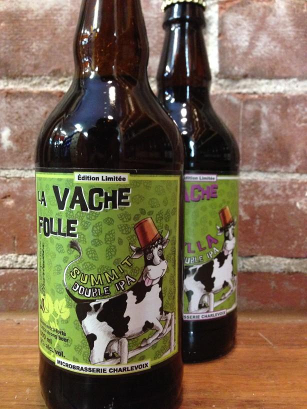 Une bière par semaine – La Vache Folle Double IPA Summit / Microbrasserie Charlevoix