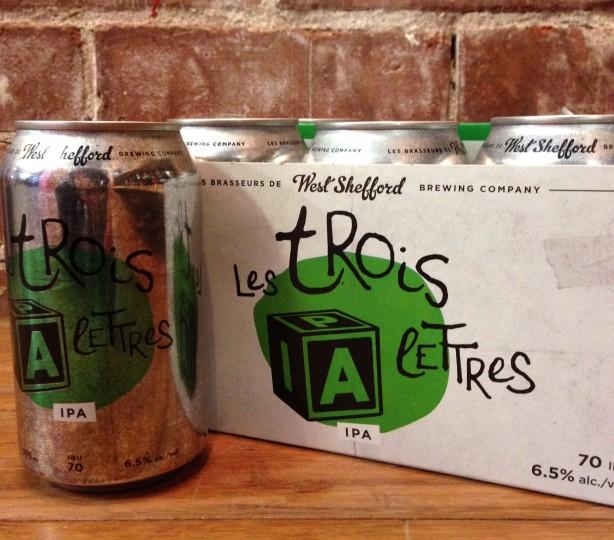 Une bière par semaine – Les Trois Lettres IPA / West Shefford