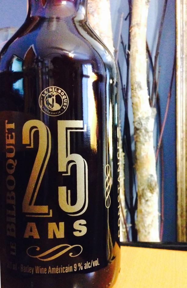 Une bière par semaine – 25 Ans (Barley Wine) / Le Bilboquet