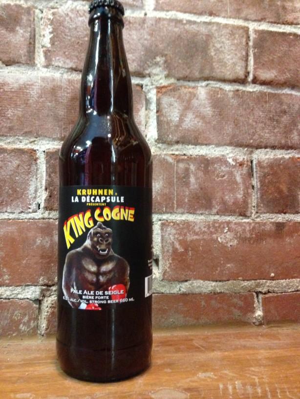 Une bière par semaine – King Cogne / Kruhnen & La Décapsule