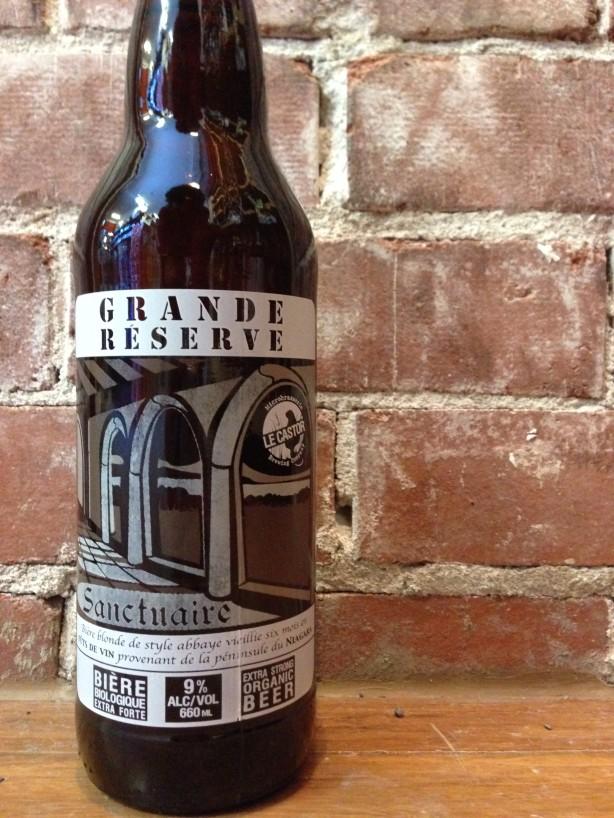 Une bière par semaine – Sanctuaire Grande Réserve / Le Castor