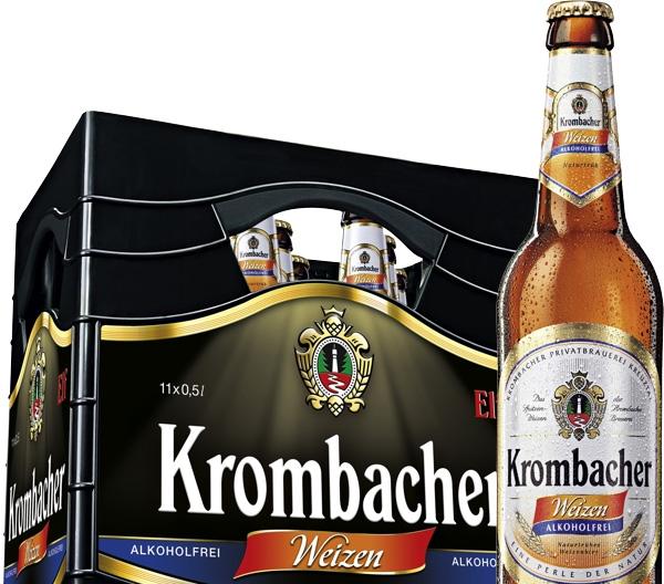 Une bière par semaine – Krombacher Weizen sans alcool