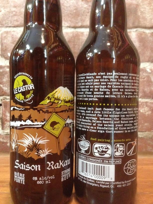 Une bière par semaine – Saison Rakau / Le Castor