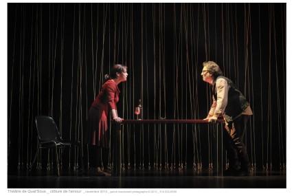 Clôture de l'amour: duel de haute voltige