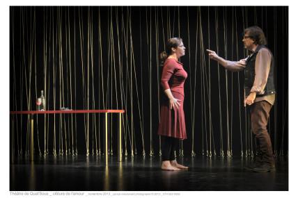 Christian Bégin et Maude Guérin: un grand succès sur la scène du Quat'Sous!