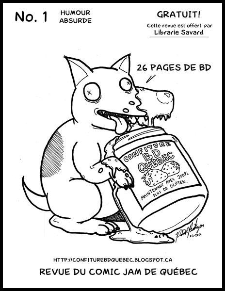 L'équipe des Comic Jam Québec lance son premier magazine papier