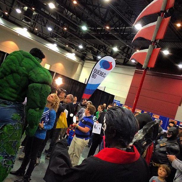 Quand le monde de la BD s'invite au Comiccon