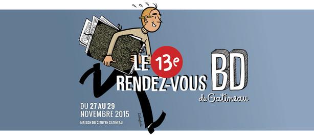 13e édition du Rendez-vous de la BD de Gatineau ce week-end!