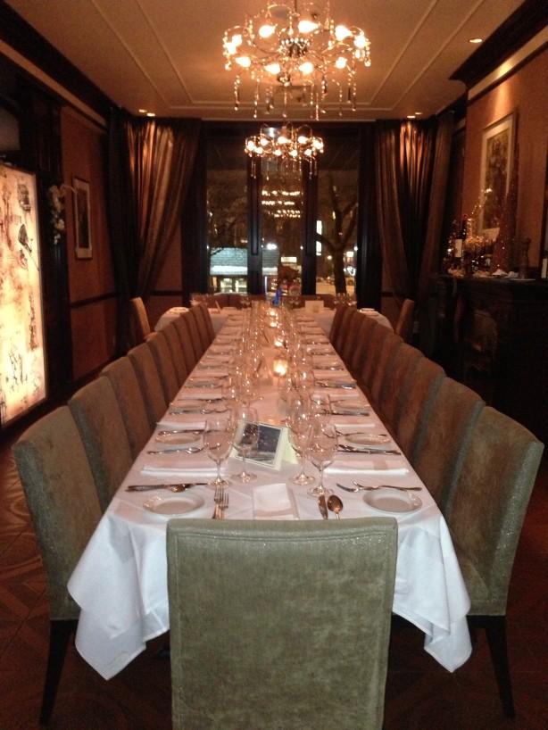 Pour la Saint-Valentin: un amour de restaurant