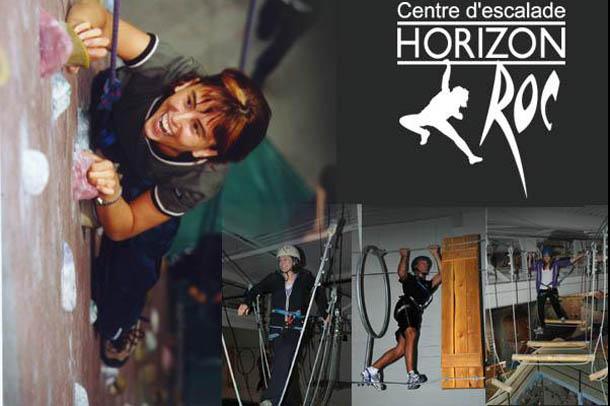 Horizon Roc, l'escalade et la hauteur