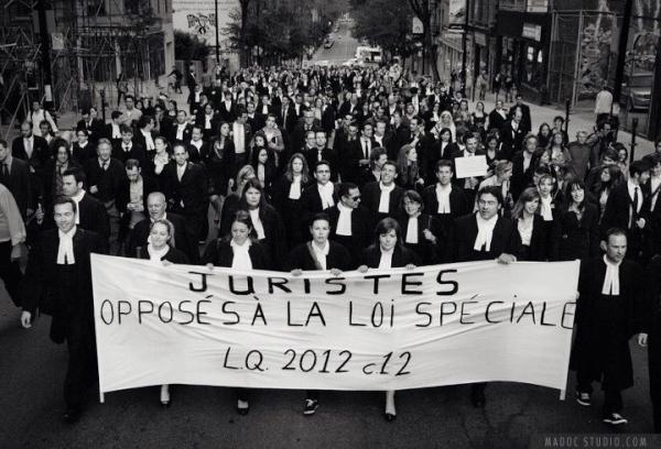 Marche silencieuse de juristes – Post Mortem