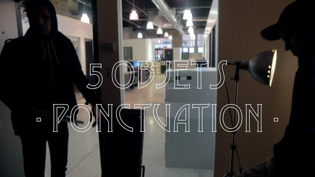 5 objets inspirants avec PONCTUATION