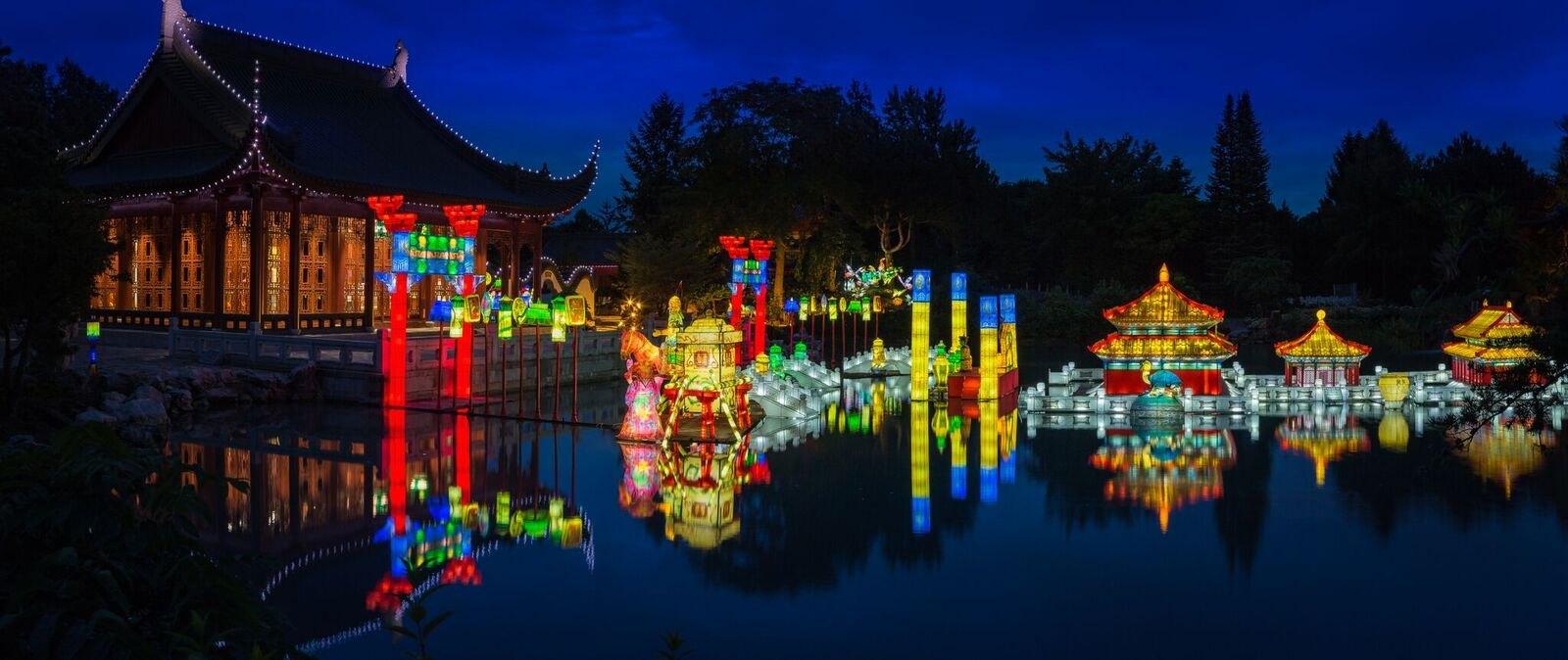 La magie des lanternes par my quynh duong for Jardin botanique montreal 2016