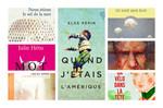 Prix France-Québec 2015 : La présélection révèle sept romans qui se font la course