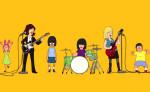 Sleater-Kinney et <i>Bob&rsquo;s Burgers</i> dans le clip haut en couleurs de <i>A New Wave</i>