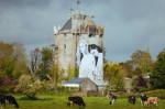 Irlande: un graffiti sur un château pour soutenir le mariage gai