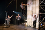 Machine de cirque à Montréal Complètement Cirque: un cirque sans surprises mais rigolo