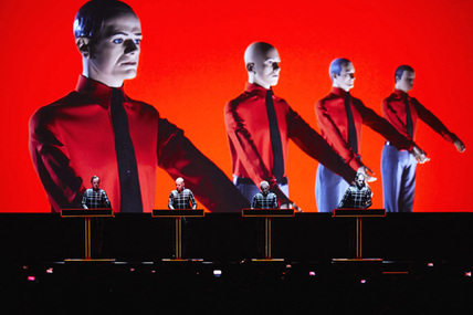 Kraftwerk transpose son spectacle 3D <i>Robots</i> sur Blu-ray
