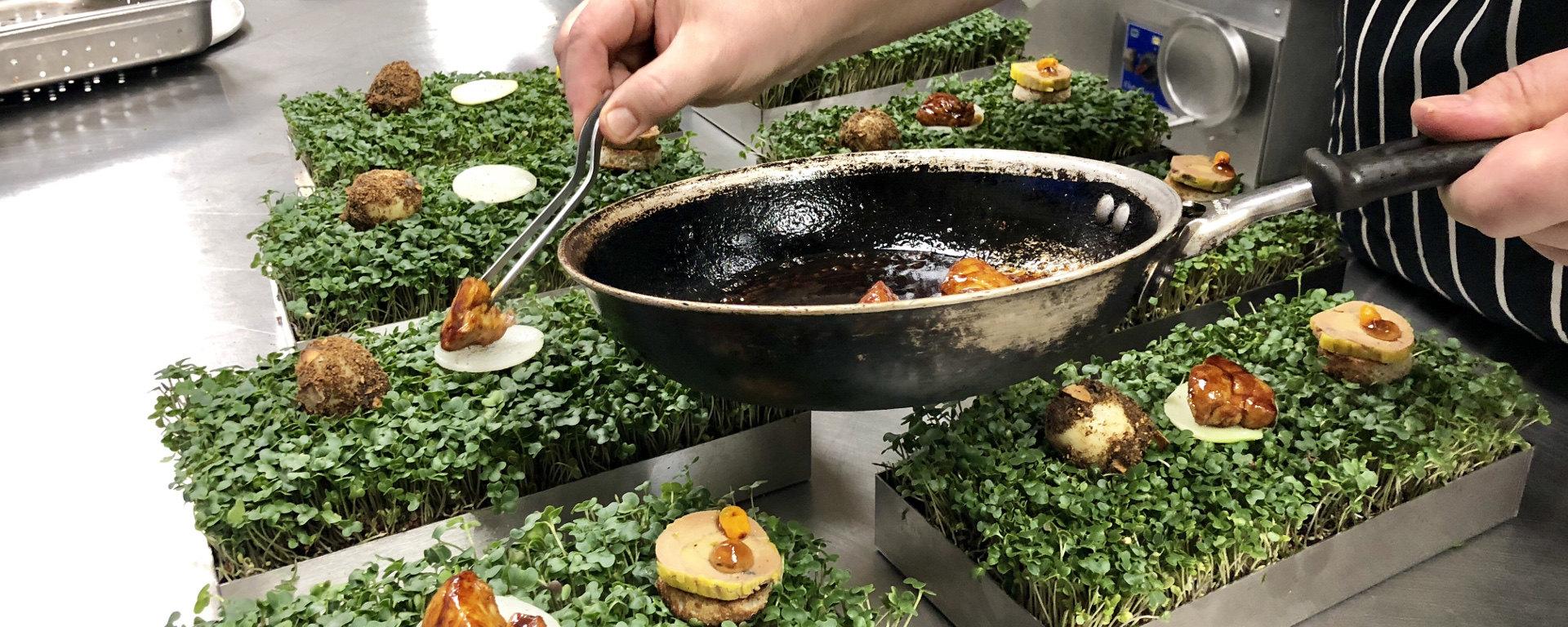 Casser Un Bar De Cuisine dressage gastronomique : casser le moule | restos / bars