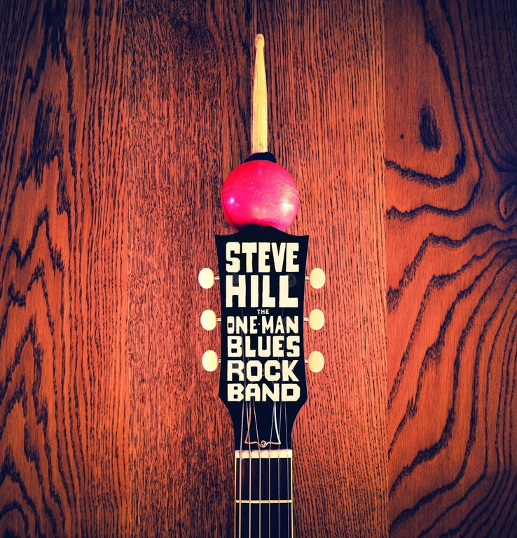 Steve Hill: The One-Man Blues Rock Band