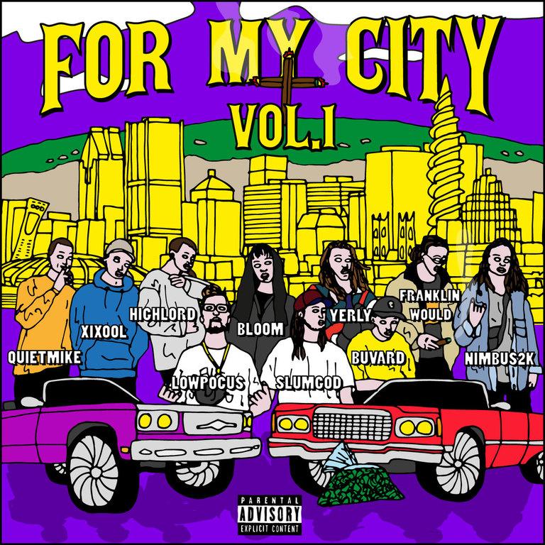 Artistes variés: For My City [Vol. 1]