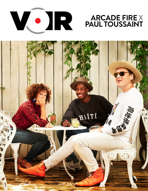 Magazine Voir   Août 2019   Arcade Fire x Paul Toussaint