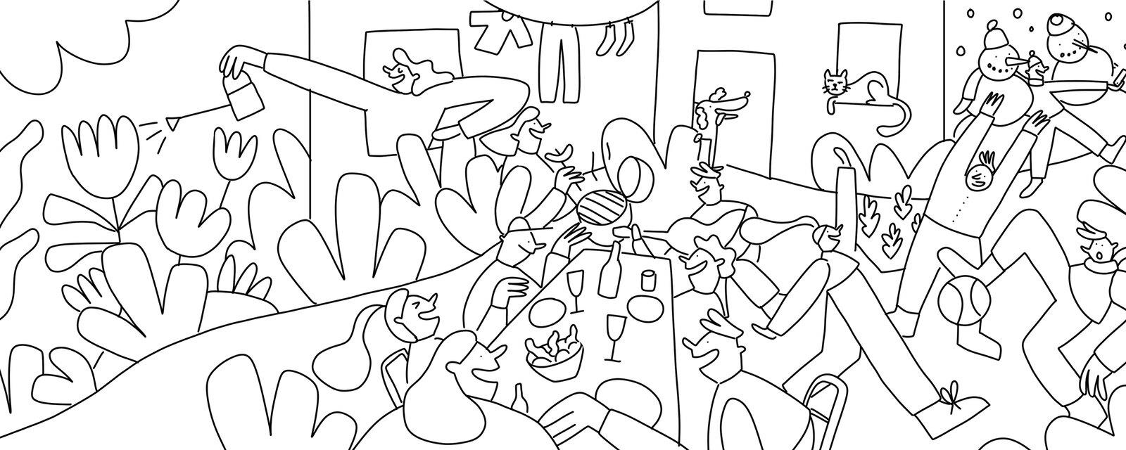 Du Coloriage Artistiquement Stimulant Pour S Occuper Pendant La Quarantaine Actualite En Arts Visuels Voir Ca