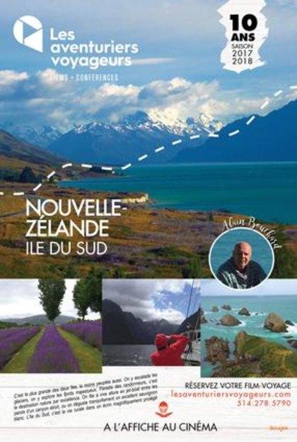Aventuriers voyageurs – Nouvelle-Zélande: Île du Sud