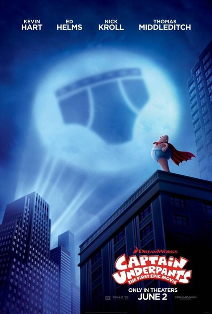 Captain Underpants – The First Epic Movie