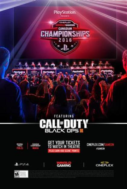 Finales Regionales du Championnat Worldgaming Call of Duty – Black Ops III en direct
