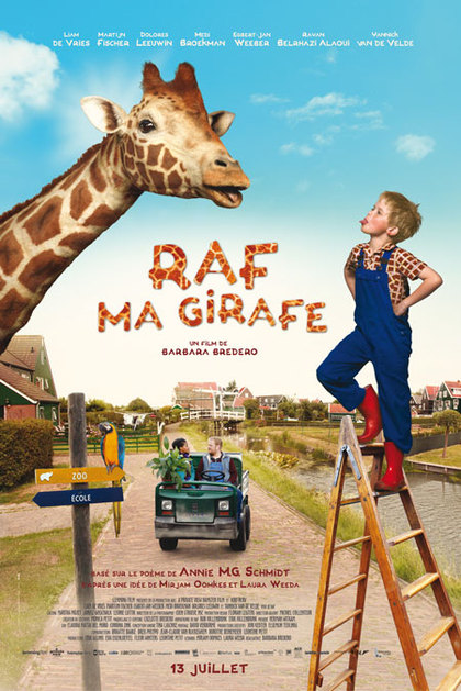 Raf, ma girafe
