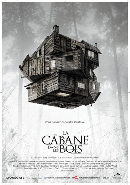 the cabin in the woods bande annonce horaire cin ma. Black Bedroom Furniture Sets. Home Design Ideas